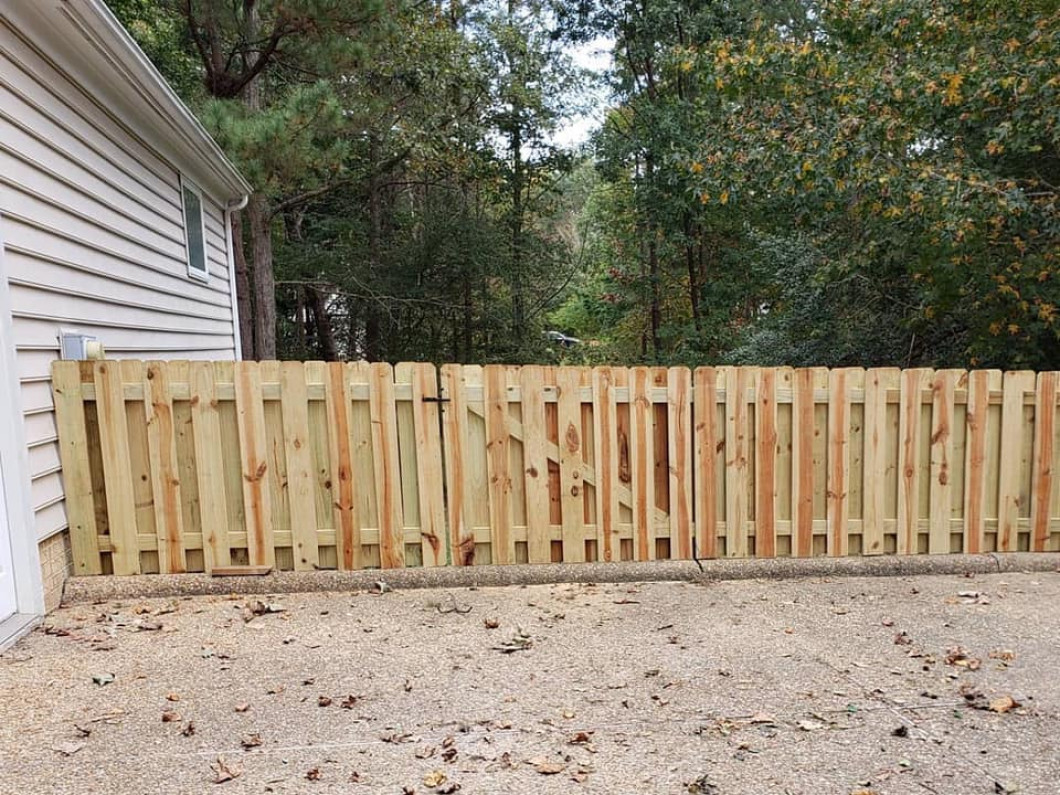 Repair any problem with your fence